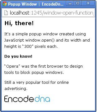 javascript tutorial open new window open a new browser window using javascript open method