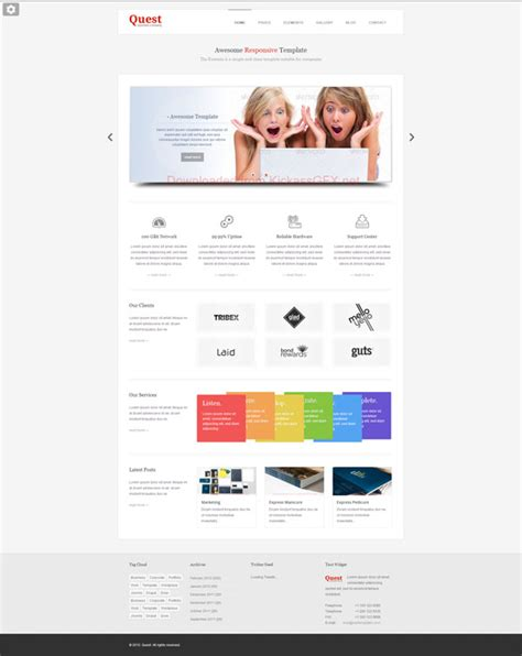 28 html5 template file tempcore business html5 template