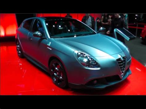 alfa romeo giulietta  launch edition   detail