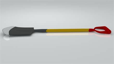 3ds Shovel shovel 3d model 3ds cgtrader