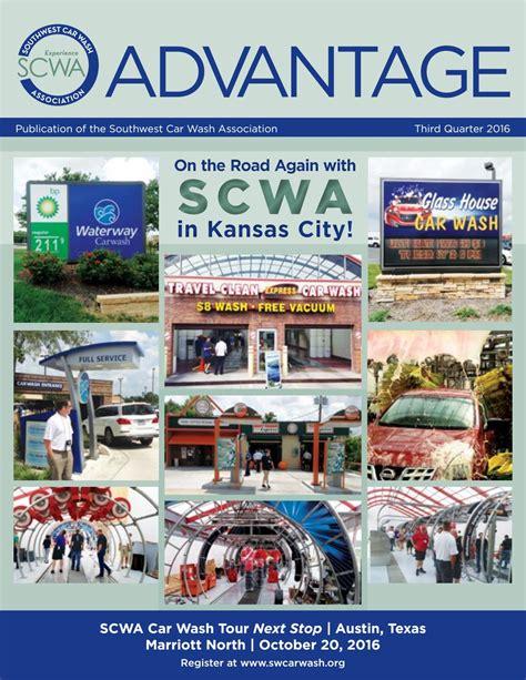 southwest car wash association advantage  quarter