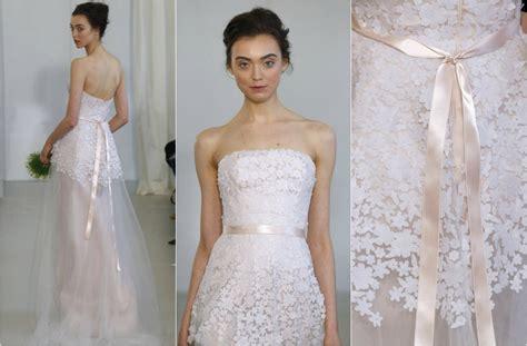 imagenes de vestidos de novia transparentes tendencias 2014 novias de colores