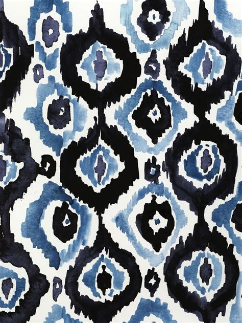 pattern blue pinterest stampa virginia johnson ikat print and pattern