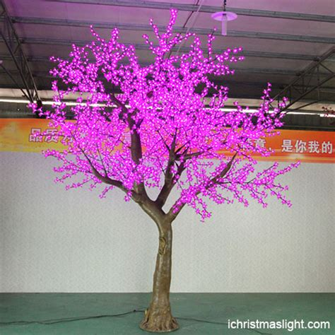 pink led tree lights outdoor pink led cherry blossom tree ichristmaslight