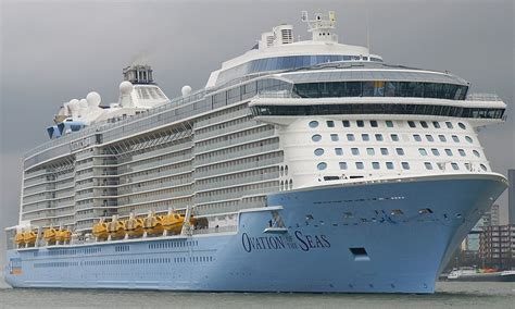 Ovation Of The Seas   Itinerary Schedule, Current Position