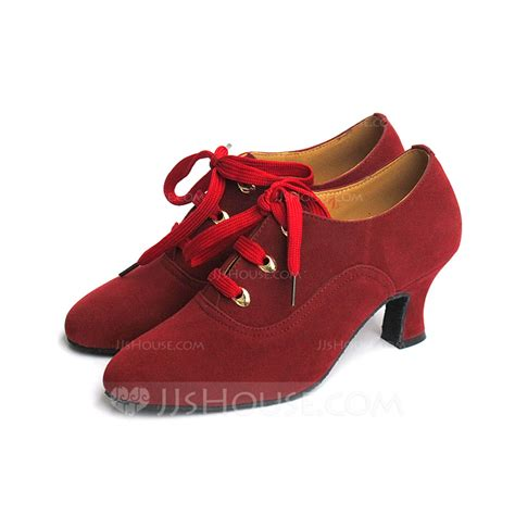 jjs house shoes women s suede heels pumps modern dance shoes 053082951 jjshouse