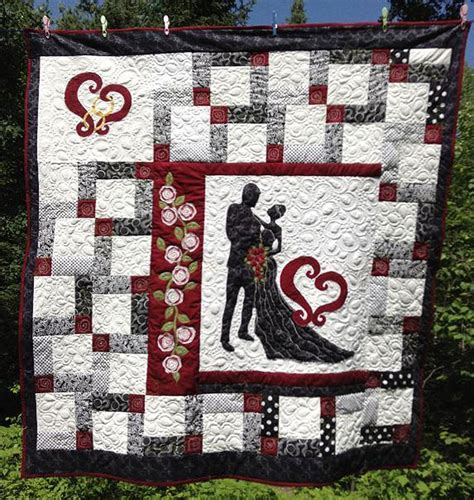 Wedding Quilt by Wedding Quilts Quilterchic