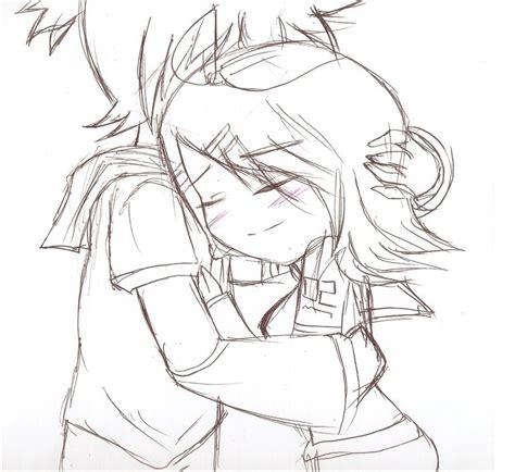 cute cuple hug and kissing sketch pics anime hugging sketch www pixshark com images galleries