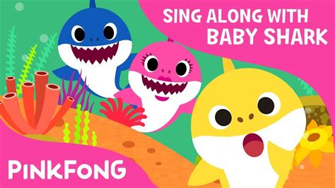 baby shark youtube pinkfong where is daddy shark sing along with baby shark