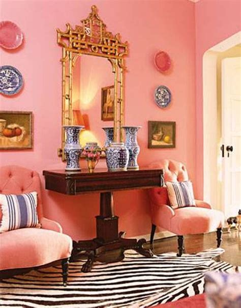 pink living room 23 wes anderson styled interiors messagenote