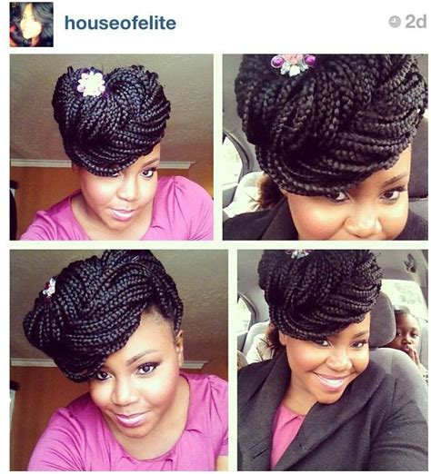 box braid pin up styles pictures pin up braid styles black hairstle picture