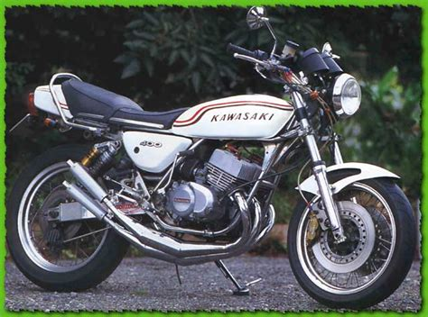 Kh Kawasaki by Kawasaki 3 Cylindre 2 Temps Anciennes Motos Essais