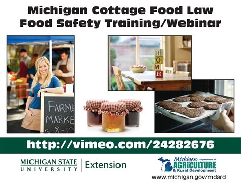 Michigan Cottage Food hillsdale county extension news michigan cottage food