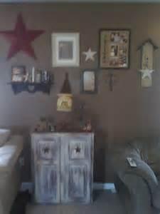 Living Room Primitive Curtains