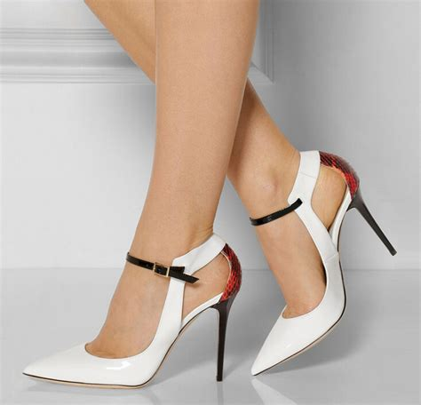 high heels made for in stock ankle shoes made in china pointed toe
