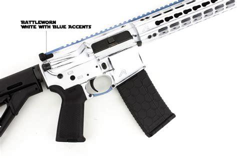 Rifle Sweepstakes - aero precision battleworn white m4e1 rifle giveaway