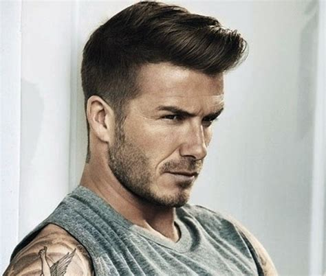 football hairstyles trendy male celebrity hairstyles 2015 david beckham