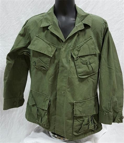 jungle pattern clothes used 3rd pattern poplin jungle fatigue coat ms 3rd