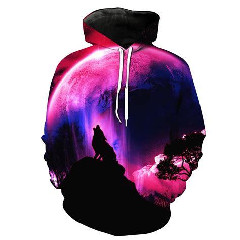 Hoodie Wolf wolf moon hoodie jakkou hebxx