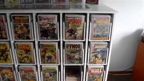 comic book cabinets for sale comic book youtube
