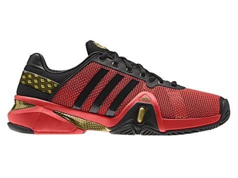 adidas mens adipower barricade 8 tennis shoes black hi