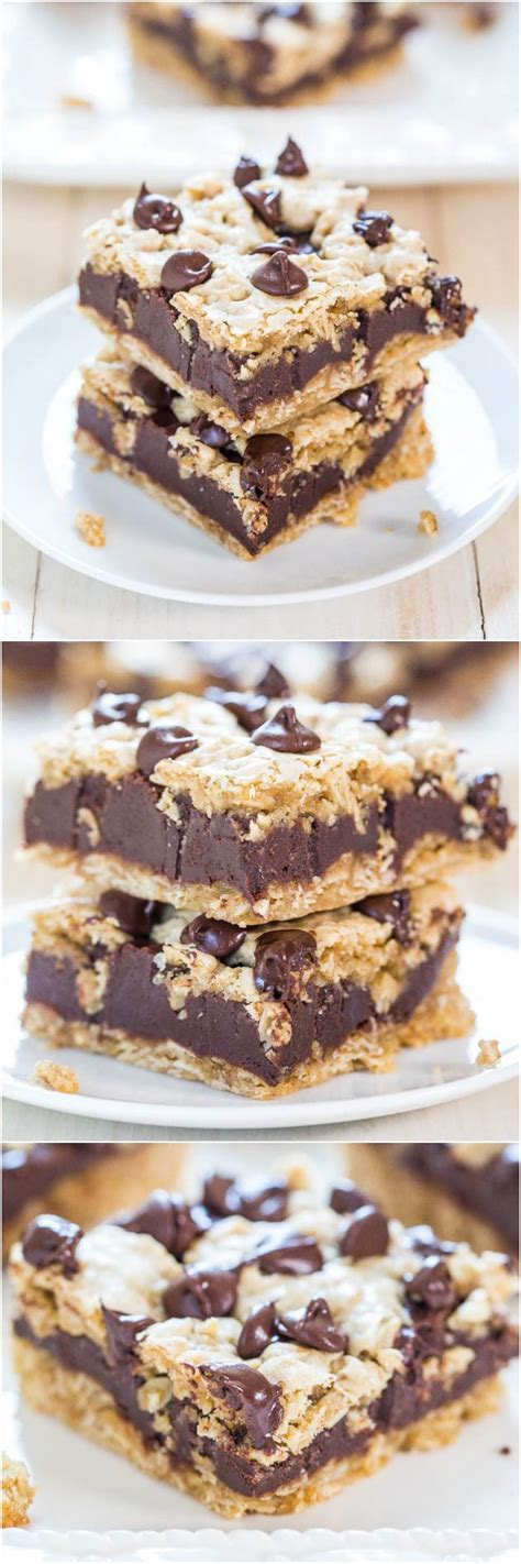 superthick whoa the best oatmeal chocolate chip cookies averie cooks