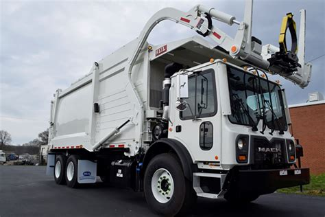 heil truck halfpack front load garbage truck commercial