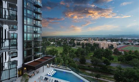 Denver Apartments On Speer 1000 Speer 187 Blvd Suites Corporate Housing
