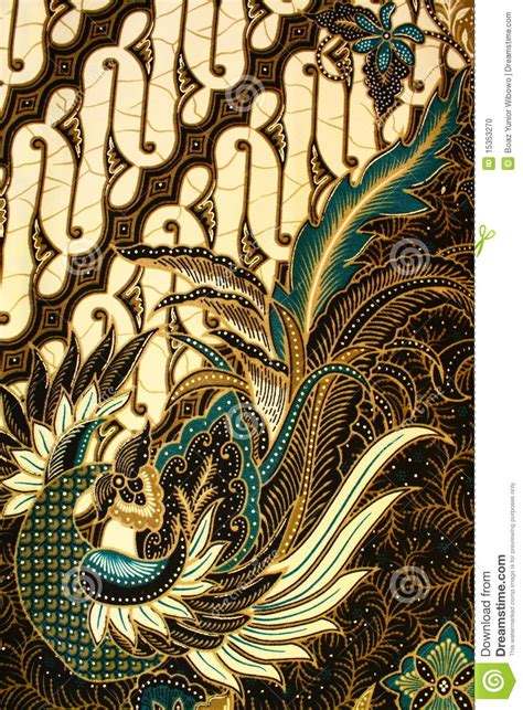 batik pattern indonesia stock photo image  natural