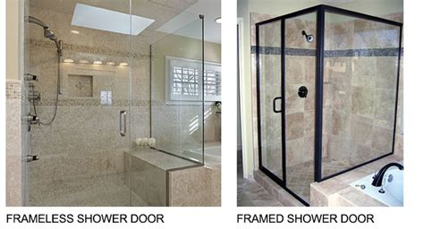 What Is The Difference Between And Showers by The Differences Between A Framed And A Frameless Shower Door