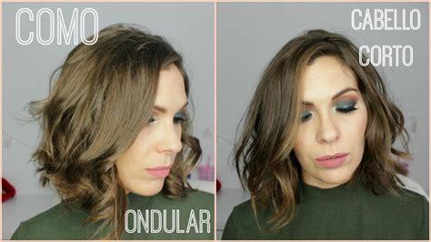 rizar el pelo en casa c 243 mo ondular el cabello corto corte bob facilisimo