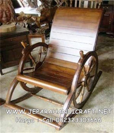 Kursi Goyang Rotan Murah harga kursi goyang minimalis jati roda murah