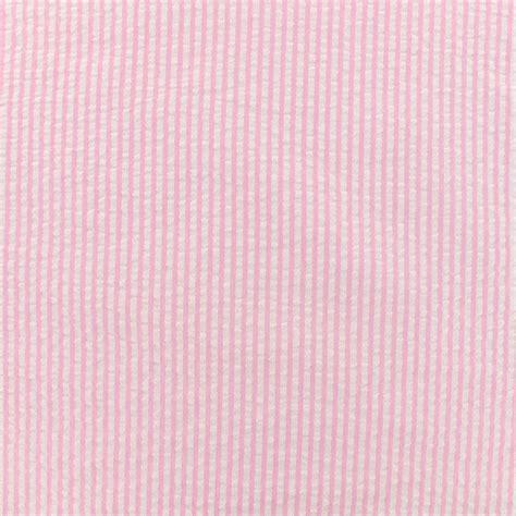 Pink Box 10 X 10 X 10 Cm seersucker stripes pink
