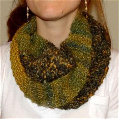 knitting pattern scarf garter stitch garter stitch circle scarf allfreeknitting com