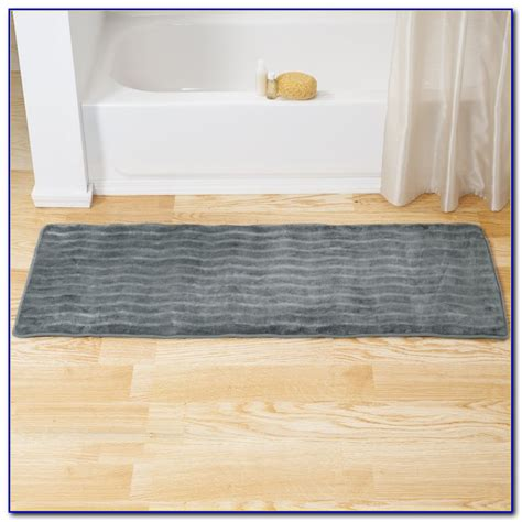 bathroom rug runner 24x60 bathroom rug runner 24x60 sleep innovations sandyshore