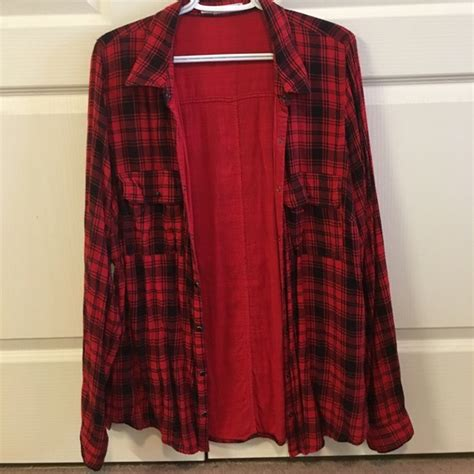 Maurices Branded Blouse 58 maurices tops maurices brand button up plaid size 1 plus from ash s closet on