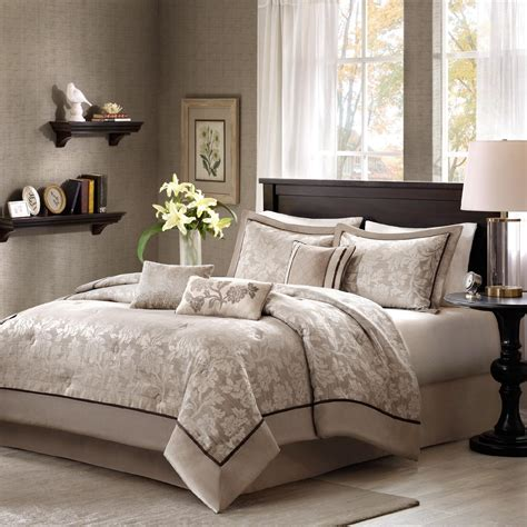 sears bed sets colormate 6 piece martinique comforter set sears
