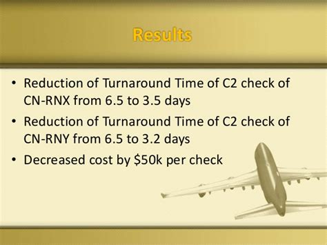 Background Check Turnaround Time A321 C Check S Turnaround Time Reduction