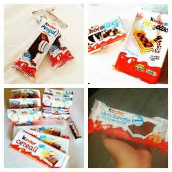 Wow who knew there were so many types of kinder was delicious to eat