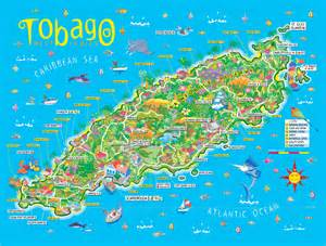 and tobago map who knew that such an intimate island like tobago has so much to offer we did duh but just