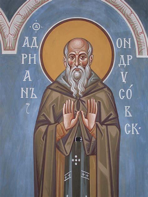 st adrina adrian of canterbury franciscan media