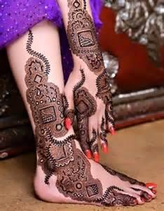 Easy gulf style henna design for inspiration