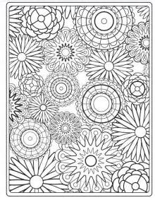 coloring pages to print of flowers image