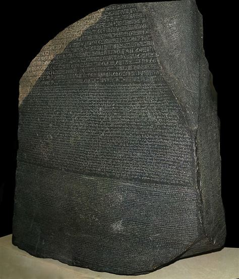 rosetta stone deciphered who deciphered the rosetta stone today in 1822 grateful