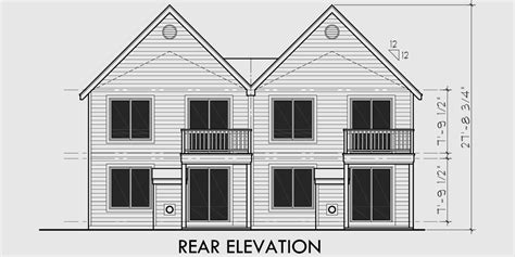 two story duplex plans two story duplex house plans 2 bedroom duplex house plans