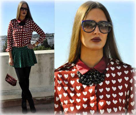blouse jumbo amina lu amina allam marc by sunnies romwe print