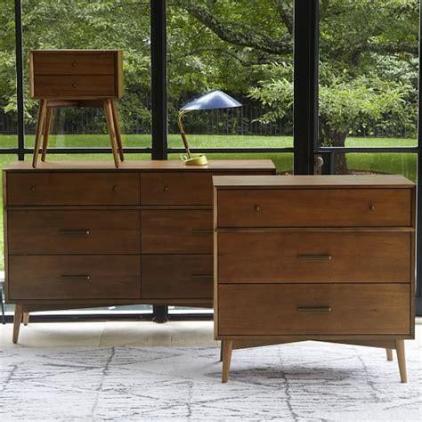 modern 3 drawer dresser west elm mid century 3 drawer dresser acorn west elm