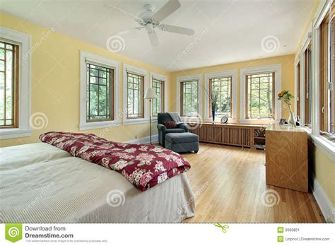 bright yellow bedroom bright yellow master bedroom stock image image 9983851