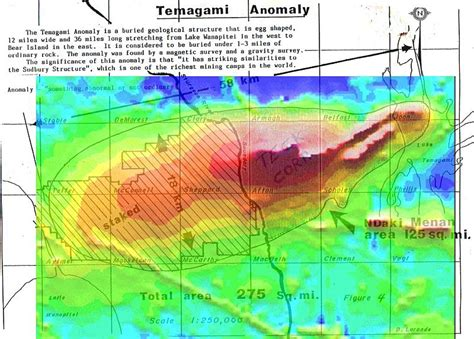 america magnetic anomaly map temagami magnetic anomaly