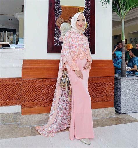 macam macam model baju muslim dri bahan brokat 19 model baju kebaya pesta khusus untuk wanita berhijab 2018